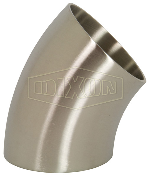 Polished 45° Weld Elbow