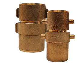 Expansion Ring Coupling for Single Jacket Hose, Brass