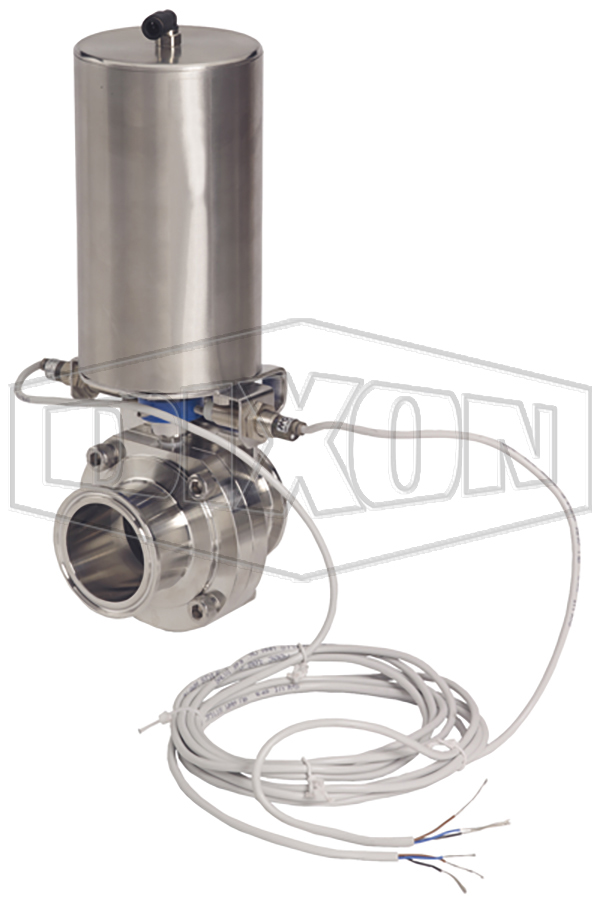Dixon® Automated Butterfly Valve with Vertical Canister