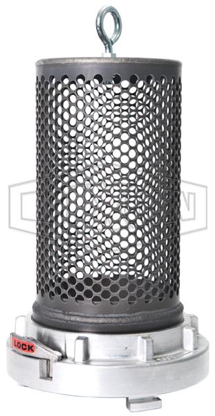 Aluminum Storz Barrel Strainer