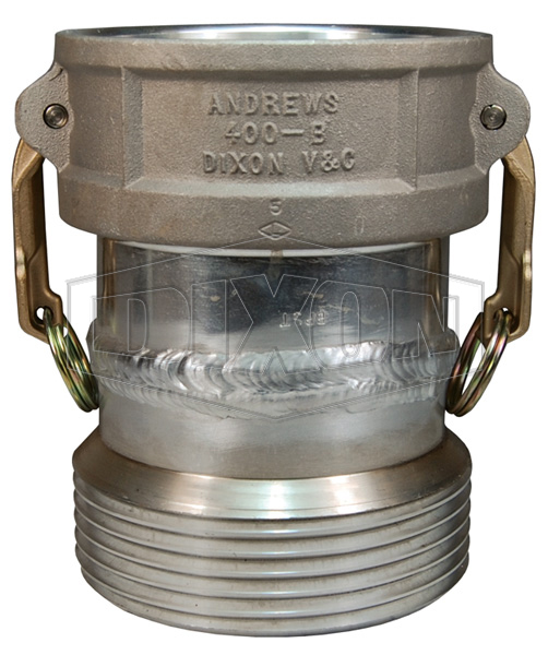 Dixon® Coupler x Tank Car Connection