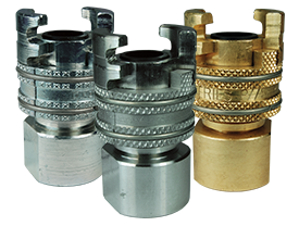 Dual-Lock™ P-Series Thor Interchange Female Thread Coupler