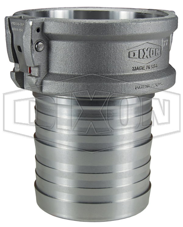 EZLink™ Armless Cam & Groove Type C Coupler x Hose Shank