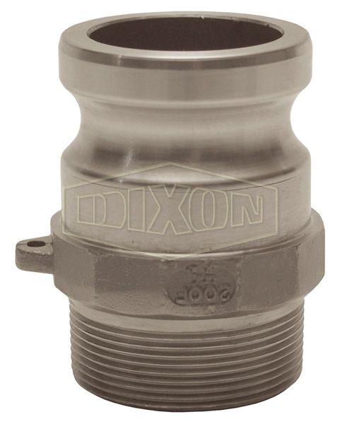 Cam & Groove Hastelloy® Type F Adapter x Male NPT