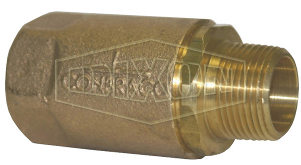 Ball Cone Check Valve Male NPT x Female NPT
