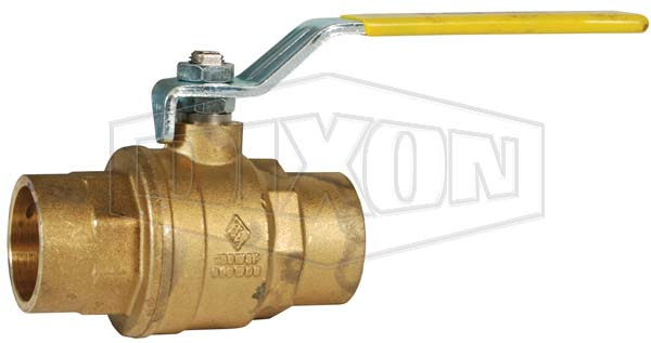 Solder End Brass Ball Valve