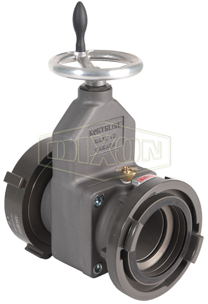 Large Diameter Gate Valve Storz x Female Swivel