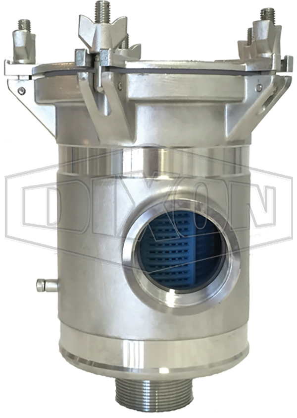 BISO Strainers - Bottom Inlet, Side Outlet