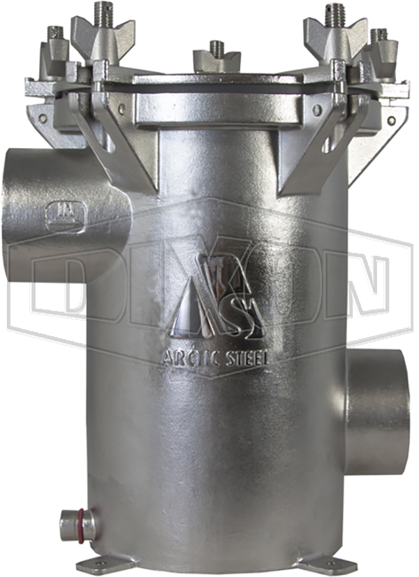 SISO Strainers - Side Inlet, Side Outlet