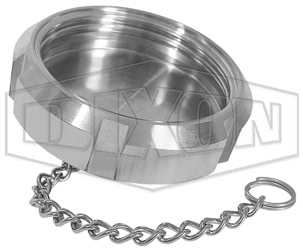 SMS Blank Nut 6 Slots with Chain