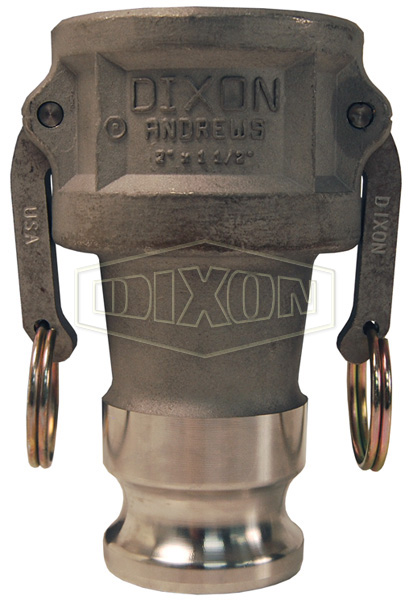 Dixon® Cam & Groove Reducing Coupler x Adapter (Type DA)