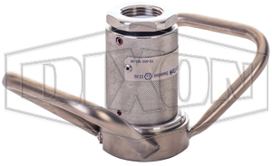 Dixon® Dry Disconnect Steam Coupler x Female NPT